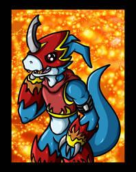 Flamedramon by pelle131313