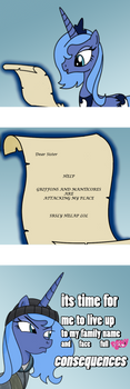 Full Pony Consequences by eTonyOC