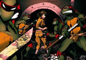 Teenage Mutant Ninja Turtles by thorup