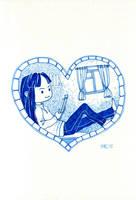 I heart books by JessicaKKowton