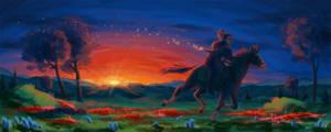 Sunset by JessicaKKowton