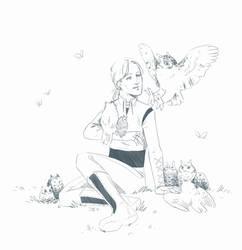 Jer and owls by JessicaKKowton