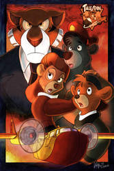 Talespin Poster by ll