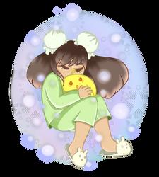 Sleepy Cutie by jazzy1lol