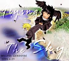 Flying the Sky by v-azazel