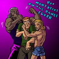 Dance Floor Bro-Ho Ratio by Coelasquid