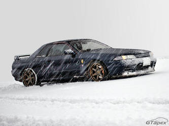 Skyline in the Snow by pleyr