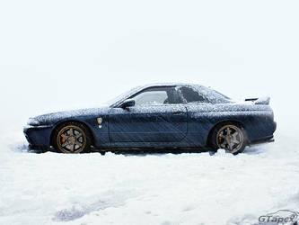 Snowy R32 GT-R by pleyr