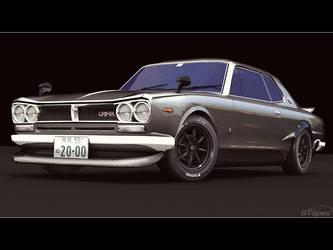 Skyline HT2000 GT-R 'KPGC10' by pleyr