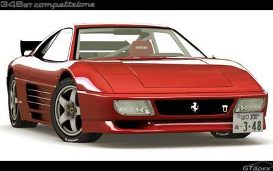 Ferrari 348 Michelotto GTC by pleyr