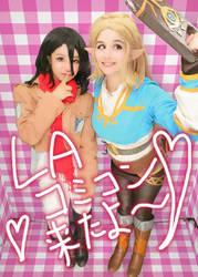 Smile for the Sheikah Slate! by Akarui-Sakura