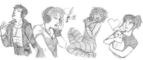 Doodling by ChouetteEffraie