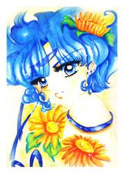 Sailor Mercury by Simbenia