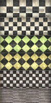 6 Tileable Checkered Textures by MuzikizumWeb