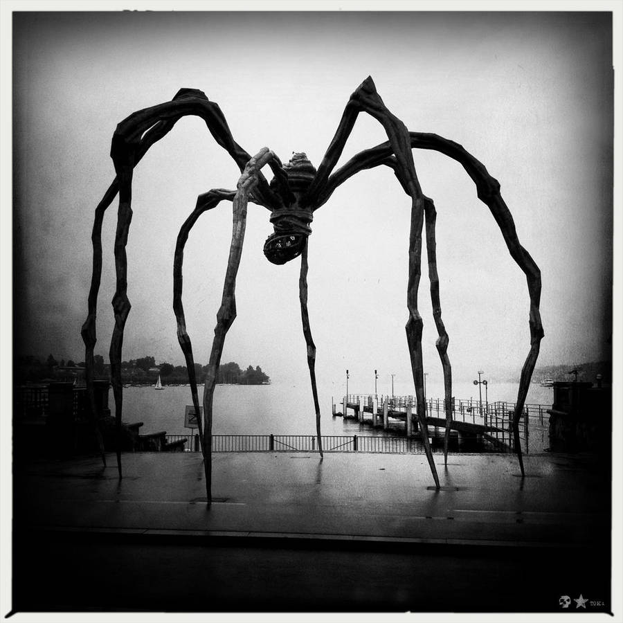 . Louise Bourgeois. Zuerich. by dasTOK