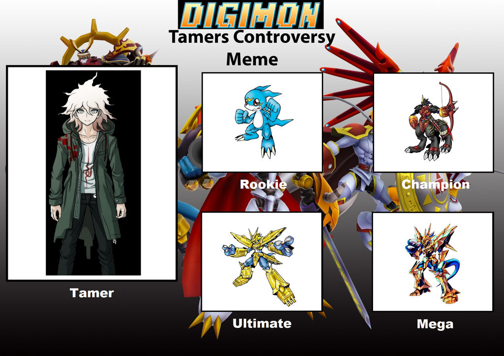 Nagito Komaeda As A Digimon Tamer By Ajpokeman On Deviantart