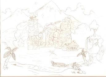 Spyro and Cynder: Vacation by NewLegend1