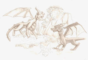 Spyro and Cynder: Together by NewLegend1