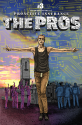 The Pros issue 3 cover by besnglist