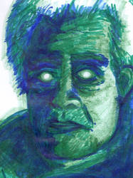 Roy Batty - Scanned by ArtByJenX