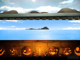 Backgrounds for Saint Vera's 1 by SamDaLamb