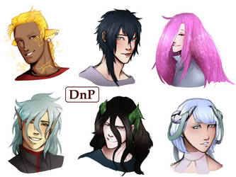 [DnP] Headshots by SamDaLamb
