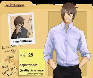 [WS] Toby Williams by SamDaLamb