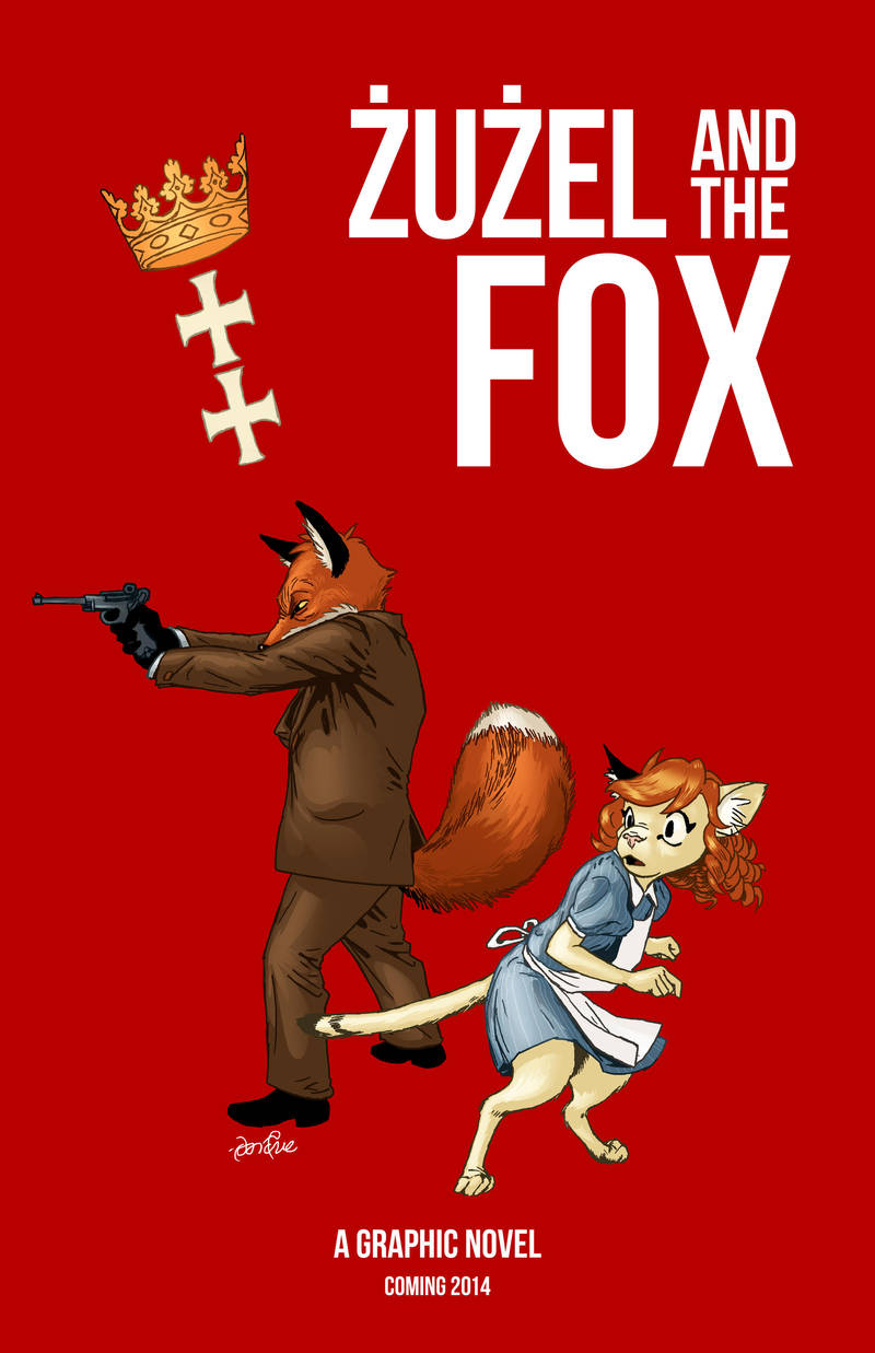Zuzel and the Fox poster by PeterDonahue