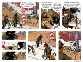 Rudek and the Bear #27 by PeterDonahue