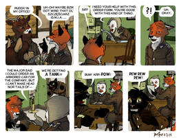 Rudek and the Bear #46 by PeterDonahue