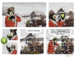 Rudek and the Bear #68 by PeterDonahue