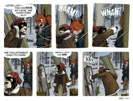 Rudek and the Bear #70 by PeterDonahue