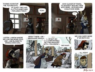 Rudek and the Bear #82 by PeterDonahue