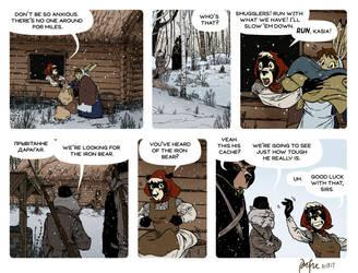 Rudek and the Bear #84 by PeterDonahue