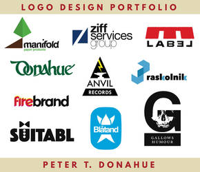 Logo design portfolio by PeterDonahue