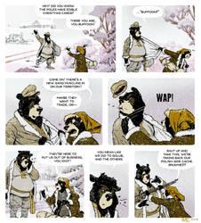 Rudek and the Bear #86 by PeterDonahue