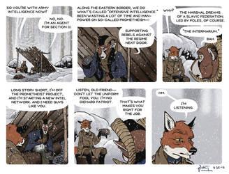 Rudek and the Bear #87 by PeterDonahue