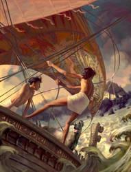 Sea of the Dead by Jon-Foster
