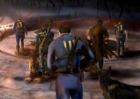 *** Fallout 4 Tribute *** by HettyWaddell