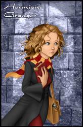 HP Fanart-Hermione Granger by meririm