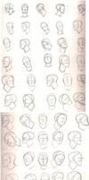 Head study 2 by Grieverjoe