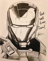 Iron Man Get Well card by Grieverjoe