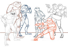 Fight of the Century - WIP3 by Grieverjoe