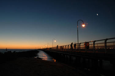 St Kilda Pier at Dusk 002 by jasey