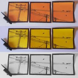 ''Small Art'': Power Lines by AlvaroGJ