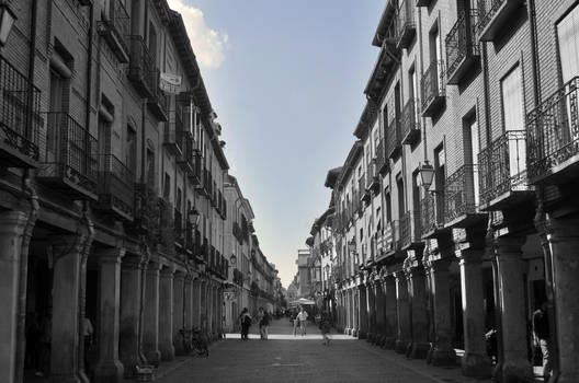 Calle Mayor de Alcala de Henares (Spain) by AlvaroGJ