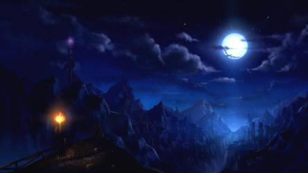 Starry Night by Juh-Juh