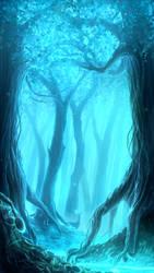 Blue Mist by Juh-Juh