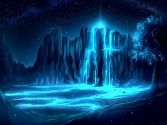 Waterfall by Juh-Juh