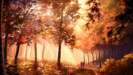 Autumn's Whisper by Juh-Juh